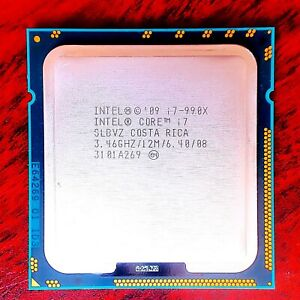 Intel Core i7-990X Extreme Edition 3.46GHz - 3.73GHz Boost - 6 Core & 12 Threads