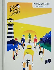 2021 CYCLING TOUR DE FRANCE OFFICIAL PROGRAMME (ROUTE AND STAGES)
