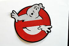 GHOSTBUSTERS ~ 6.5 inch GHOST ~ Movie BUSTERS Iron On patch Shirt Jean Applique
