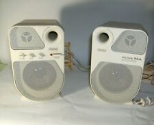 Juster Active 95A Vintage Multimedia Speakers With Integrated Amplifier Used