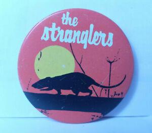 original 70s vintage large Stranglers badge