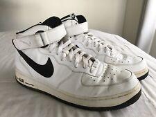 Mens NIKE AIR FORCE 1 Mid '07 High Tops Sneakers US 12 #15482