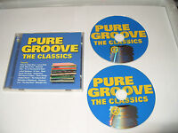 Pure Groove The Classics 2 cd 40 Tracks Of Old Skool Groove 2002 Ex Condition