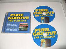 Pure Groove The Classics 2 cd 40 Tracks Of Old Skool Groove 2002