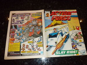 ACTION FORCE - No 43 - Date 26/12/1987 - Marvel Comic