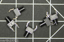 5 pack Mini Push Button 6 mm SPST Normally Open Switches for CKT BDs 5 pack