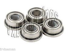 "4 Flange Bearing SLOT CAR 1/8""x 1/4"" Ceramic Bearings"