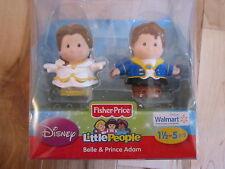 Fisher Price Little People Disney Princess Exclusive Wedding Belle Prince Adam