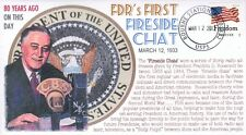 """COVERSCAPE computer designed 80th anniversary of FDR's 1st """"Fireside Chat"""" cover"""