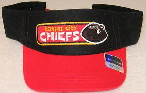 NFL Kansas City Chiefs Multi-Color Toddler Adjustable Visor By Reebok