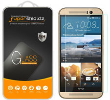 Supershieldz Ballistic [Tempered Glass] Screen Protector Shield For HTC One M9