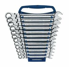 Gearwrench 12 Piece Ratcheting Flexible Head Wrench Set Metric 8 - 19mm 9901D