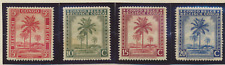 Belgian Congo Stamps Scott #187//204, 16 Different, 10 Used, 6 MH