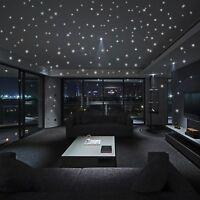 Leuchtaufkleber Fluoreszierend Folie Sterne Punkte 407 St Wandtattoo Stickers