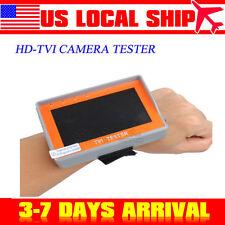 "Wrist 4.3"" Portable Hd1080P Tvi Cctv Camera Video Tester Monitor Display 12V-Out"