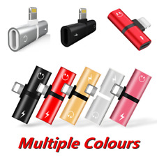 Cable Adapter For Apple iPhone 7 8 Plus X XS XR Earphone Headphone Audio Charger
