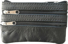 Men, Woman, Genuine Leather Coin Purse Cowhide Change Purse Coin Pouch, Key Ring
