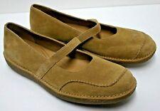 Women's Rockport Mary Jane Comfort Shoes Suede Leather Size 7 1/2 Medium EUC