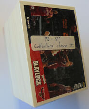 1996-97 Collectors Choice NBA Basketball Series 1 complete base card set.