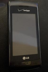 LG Voyager VX10000S - Titanium (Verizon) Flip Keyboard Cellular Phone