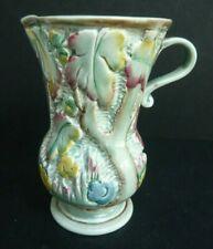 Vintage Beswick Green Pattern Jug Vase 679