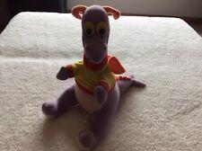 Walt Disney Figment Dragon Stuffed Animal Plush Dragon 1982