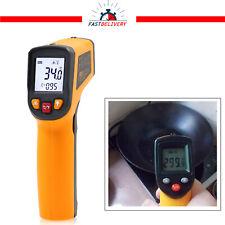 Digital Thermometer Infrared Handheld Temperature Gun Non-Contact IR Laser UK