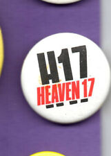 Heaven 17 - H 17 - Pop Band -  Button  Badge 1980's