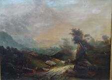 "Johann Matthias JANSEN (1751-1794) ""Landschaft mit Figuren "" um 1790 (255/12002)"