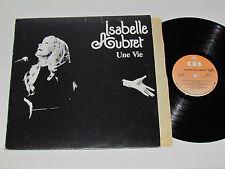 ISABELLE AUBRET Une Vie LP 1979 CBS Records Canada PFC-90533 Vinyl VG/VG French
