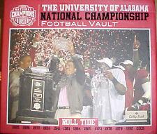 University of Alabama Football Vault (2010, Hardcover)