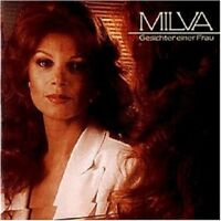 MILVA - GESICHTER EINER FRAU  CD  16 TRACKS DEUTSCH-POP / SCHLAGER  NEU