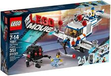 LEGO Movie 70811: The Flying Flusher - Brand New