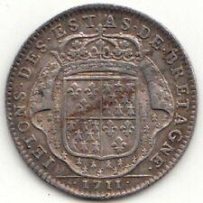 Jeton Louis XIV Etats de Bretagne 1711