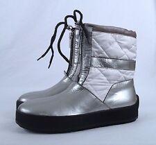 NEW!! Aquatalia Winter Boot- Silver- Size 7.5 M   $498  (B34)