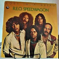 REO Speedwagon ‎-Lost In A Dream-1974 Epic ‎#PE32948 Rock vinyl LP - VG+/VG+