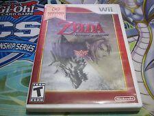 The Legend of Zelda: Twilight Princess  (Nintendo Wii) COMPLETE [Fast Shipping]