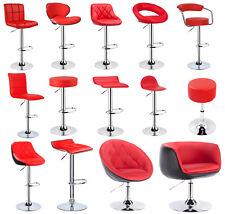 2 Tabouret de bar réglable en PU / 1 Fauteuil chaise longue pivotant à 360 °f049