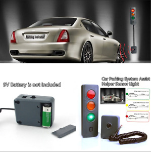 Home Garage Car Reverse Parking System Assist Helper Sensor Aid Guide Stop Light