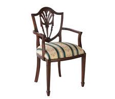 Stuhl Mahagoni Armlehnstuhl Stilmöbel Kolonialmöbel englischer Stil Sheraton