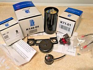 Tecumseh compressor, AEA4448YXA, AE660-AR-716-A2, 1/3 HP, Electrical Start Kit
