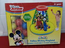 New Other Disney Junior Mickey Mouse Club-Playland-Ball Pit- Box Has Damage