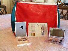 New Elizabeth Arden 2 X Eyeshadow Quads, Samples & Cosmetic Bag.