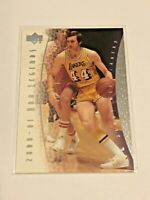 2000-01 Upper Deck Basketball #72 - Jerry West - Los Angeles Lakers