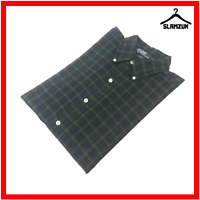 Ralph Lauren Mens Blake Shirt M Medium Cotton Tartan Plaid Long Sleeve Casual