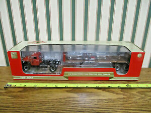 Farmall Works Assembly Ford F-800 Truck With Trailer By First Gear 1/50th Scale