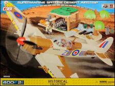COBI Spitfire Mk.IX - Desert Airstrip (5545) - 400 elem. - WWII scene