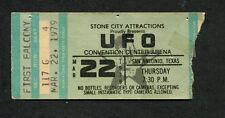 Original 1979 UFO Judas Priest concert ticket stub San Antonio Killing Machine
