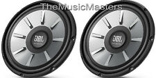 "2X JBL Stage 1010 Subwoofers 900 Watt 10"" inch WOOFER Car Audio Bass Speakers"