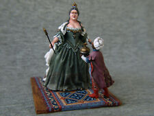 Russian Empress Anna Ioannovna. Elite tin soldiers SCALE 1/32 54 mm